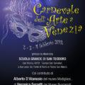 Carnevale dell'Arte a Venezia: locandina evento